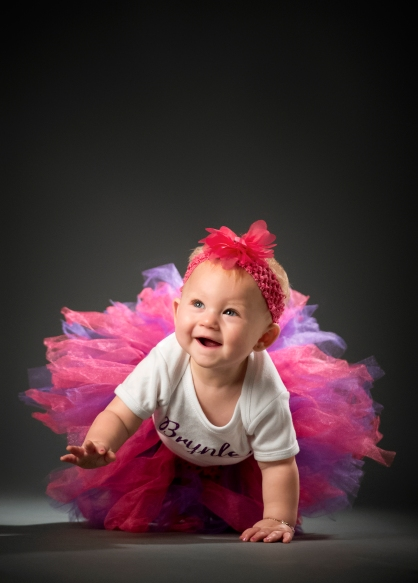 Eight-month-old Brynlee Flynn. KRISTIN STREFF, Journal Star