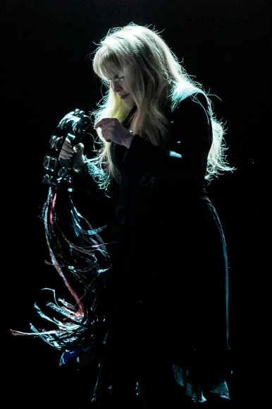 Stevie Nicks performs during a concert at Pinnacle Bank Arena in Lincoln. KRISTIN STREFF, Journal Star